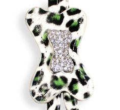 Shop where every purchase helps shelter pets! Hip Doggie Green Snow Leopard Bone Step-in Dog Harness - from $19.99