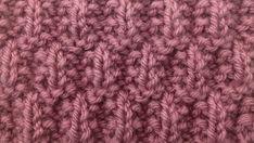 The Seeded Rib Check Stitch :: Knitting Stitch #79