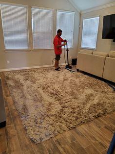 Carpet Tiles, Shag Rug, Cleaning, Rugs, Home Decor, Shaggy Rug, Farmhouse Rugs, Decoration Home, Room Decor