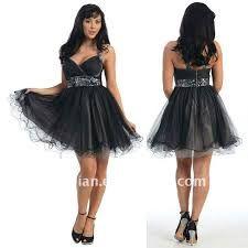 vestidos de festa preto curto - Pesquisa Google