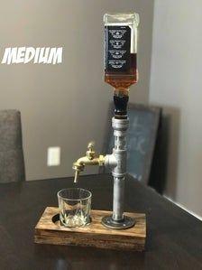 Liquor Dispenser - Stainless Steel Beverage Dispenser Drink dispenser Gift in 2019 Whiskey Dispenser, Alcohol Dispenser, Beverage Dispenser, Beverage Drink, Liquor Bottle Crafts, Liquor Bottles, Stainless Steel Tubing, Stainless Steel Bottle, Whisky Spender