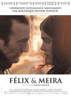 Felix et Meira 7/2/15 +                       De jolies choses, la fin laisse perplexe...
