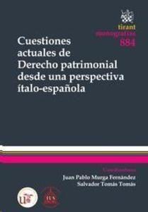 Cuestiones actuales de derecho patrimonial desde una perspetiva ítalo-española. Tirant lo Blanch , 2013.