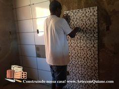 ARTE COM QUIANE - Paps,Moldes,E.V.A,Feltro,Costuras,Fofuchas 3D: Construção da nossa casa - Dica sobre revestimento, piso e pastilha