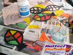 #manualidades realizadas por nuestra #Educadora #Social en la #Residencia #catite