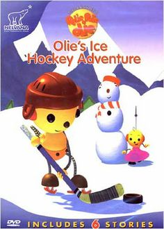 Rolie Polie Olie: Olie s Ice Hockey Adventure DVD Movie Best Friend Necklaces, Old Shows, Movie Gifs, Roller Derby, Ice Hockey, Childhood Memories, Best Friends, Adventure, Cool Stuff