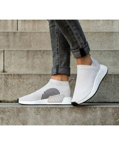 outlet store 9b1fb 45e22 Adidas NMD City Sock PK Trainers In Pearl Grey Nike Basketball Socks,  Basketball Compression Pants