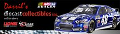 We carry a wide selection of NASCAR products. We stock 1/64 diecast up to 1/18 diecast. We also carry NHRA Top Fuel Cars, Funny Cars and a wide selection of display cases. Shop online or drop by the store – we try our best to get the products the customers want. Contact us if you can't find an item on our site, send us an email and we will do our best to get it for you.