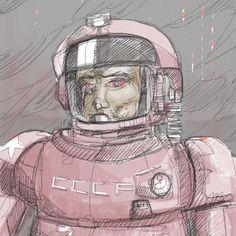 Drawing my last dream it was wild! #drawing #doodle #procreate #cccp #dream #instadraw #draw #dessin #ipad