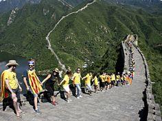 ARA mirades La Via Catalana arreu del món Dolores Park, Street View, America, Country, World, Pictures, Freedom, China, Countries