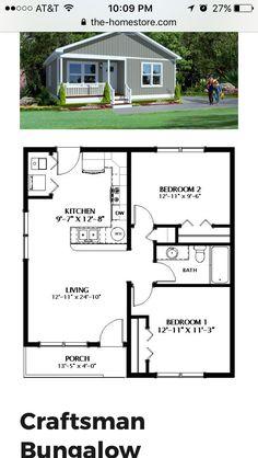 Little House Plans, Small House Floor Plans, Sims House Plans, Cabin House Plans, House Layout Plans, Tiny House Cabin, House Layouts, Little Houses, Bungalow House Design