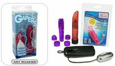 "Gapers Organic Purple ""Venla Bundle"" Adult Toy Sex Kit by Doc Johnson. $51.87. Includes a Crystal Clear Vibrator Massager $19.99 Retail Value! Discreet choice for women who want a travel-size, cordless vibrator. It delivers stimulating vibrations in variable speeds and still fits into a makeup case. (Colors and Styles May Vary). Gapers Organic Purple. Includes a Venla Mini Rabbit Keychain Vibrator ($24.99 Retail Value!) with Ultra Powerful Vibrating Rabbit Ears!. Includes..."