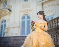 Belle's Ball Gown Costume Notes by Aigue-Marine I would love to be belle for Halloween one year.