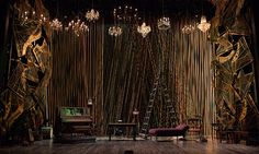 Show: Into the Woods (2014 Off-Broadway) Scenic Designer: Derek McLane