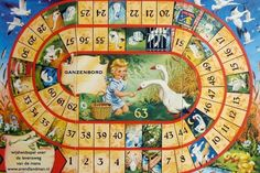 Ganzenbord , Hollandse spelletjes