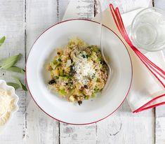 Pizzoccheri heisst das Gericht, das eigentlich mit Buchweizen-Nudeln zubereitet wird. Aber auch mit Körnern ist es einzigartig.