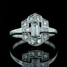 Art Deco Era Jewelry - Antique Jewelry University,      love ,love,love