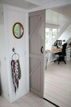 Bedroom, Kitchen Or Dressing Room - 3 Popular Interior Scenarios For Attic Rooms Attic Bedrooms, Loft Room, Attic Remodel, Interior Design Living Room, Home And Living, Interior Inspiration, New Homes, House Design, House Styles