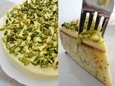 Sicilian Pistachio Cake, by Rose...., from sweetbitesblog.com  The same recipe posted by npr, but this blogger discusses her experience making the cake, w/ great photos throughout the process.