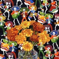 """Dia de los Muertos by Chris Beck, watercolor, 12"""" x 12"""""""