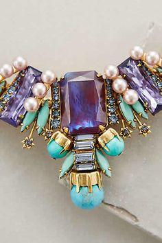 Belle Bib Necklace #AnthroFave