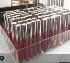 Acrylic makeup organizer designed for the ikea alex drawer sets but can fit inside any drawer easily