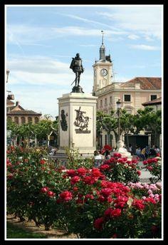 Plaza de Cervantes in Alcalá de Henares. from http://spanishsabores.com