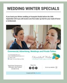 WEDDING WINTER SPECIALS