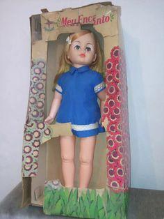 boneca meu encanto na caixa antiga estrela raridade