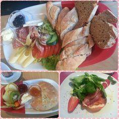 我喜歡德式brunch,除了花俏外,總是可以吃到不同的麵包和食材!