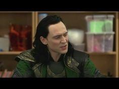 Loki Arguing With Children Is Freaking Adorable :3    AND LOKI IS BETTER _____________________       TOM HIDDLESTON.... IF YOUR READING THIS... HI!