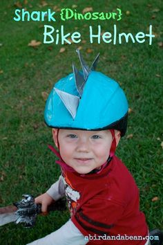 shark bike helmet  would LOVE this for my niece!