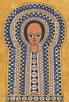 For your inspiration ancient Ethiopian magical scroll. Source: World Art Design In Ethiopia, when people are sick or anxious, they may commission a scroll from a priest or shaman. The scrolls are d… Adinkra Symbols, Africa Art, Futuristic Art, African Masks, Orthodox Icons, Angel Art, Medieval Art, Sacred Art, Illuminated Manuscript