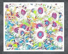 When you engage with my art, it is my hope that you will be overcome with feelings of joy and well-being, be reminded that beauty and joy can be found everywhere. #art #artwork #painting #homedecor #style #beauty #homedecoration Beautiful Paintings Of Nature, Paintings I Love, Nature Paintings, Bedroom Artwork, Artwork Ideas, Shape And Form, Living Room Art, Organic Shapes, Brush Strokes