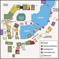 Sandestin Village of Baytowne Wharf Map -