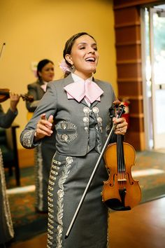 Cocktail Hour Female Mariachi Band  Photo by:  Anna Marisol Photography