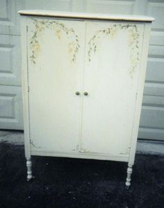 Handpainted Furniture Blog, Shabby Chic Vintage Painted Furniture: Armoires