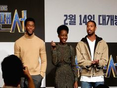 Hear It From The Cast & Crew Of 'Black Panther'