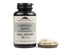 Mountain Rose Herbs: Ginseng Root Capsules