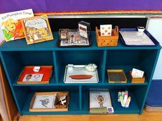 My Montessori Classroom - Thanksgiving themed Culture Shelf