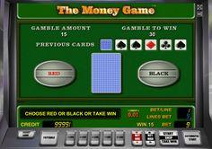 Игра на удвоение на онлайн слоте The money Game