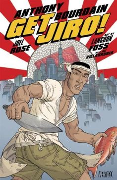 Read it, loved it! Good book for the foodie/comic book fan. Get Jiro! by Anthony Bourdain, http://www.amazon.com/dp/1401228275/ref=cm_sw_r_pi_dp_LASmqb17NFJ41