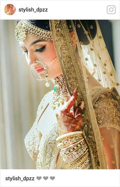 Looking for Bridal Lehenga for your wedding ? Dulhaniyaa curated the list of Best Bridal Wear Store with variety of Bridal Lehenga with their prices Indian Bridal Fashion, Indian Bridal Wear, Pakistani Bridal, Bridal Lehenga, Pakistani Makeup, Punjabi Bride, Bridal Poses, Bridal Photoshoot, Bridal Portraits