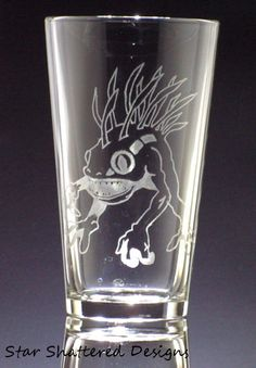 World of Warcraft inspired Murloc drinking glass