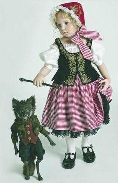 Little Red Riding Hood - 2011 Hildegard Gunzel Porcelain Collection