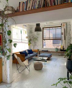 Nella Beljan (@nella.beljan) posted on Instagram • Mar 28, 2021 at 12:13pm UTC Exposed Brick Fireplaces, Apartment Ideas, Space, Architecture, Instagram, Interior, Inspiration, Furniture, House