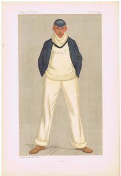 Rowing print  Date:  18-Mar-1893   The Vanity Fair Caricature of    Mr. W.A.L.  Fletcher  With the caption of  :  Flea  By the artist:  SPY     Visit www.theakston-thomas.co.uk for many more Vanity Fair Prints, we have one of the largest collections in the world.