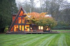 A-Frame Remodel | PeterStoner Architects | Seattle Residential & Commercial Architecture.