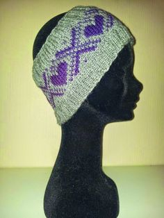 Men har lagt inn h. Chrochet, Headbands, Beanie, Knitting, Hats, Men, Crochet, Crocheting, Head Bands