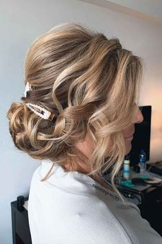 Low Messy Chignon Updo Hairstyles For Thin Hair ❤ Have no clue how to create hairstyles for thin hair? Our ideas will be of great help. We can assure you that your look will be incredibly cool with them. #hairstylesforthinhair #lovehairstyles #hair #hairstyles #haircuts Bobby Pins, Cool Hairstyles, Hair Accessories, Dreadlocks, The Incredibles, Thin Hair, Hair Styles, Beauty, Fashion